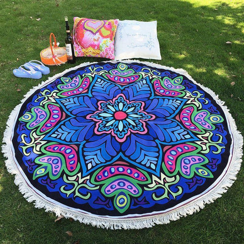 Mandala Yoga and Beach Blanket