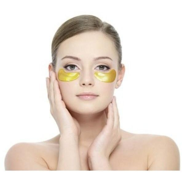 24K Golden Collagen Moisturizer Eye Mask for Eye Bags Reduction