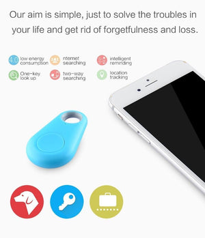 Wireless Bluetooth GPS Mini Pet Tracker