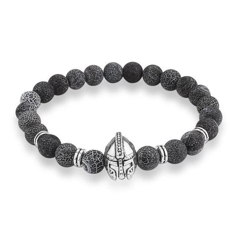 Helmet Bracelet & Bangle Natural Stone Beads