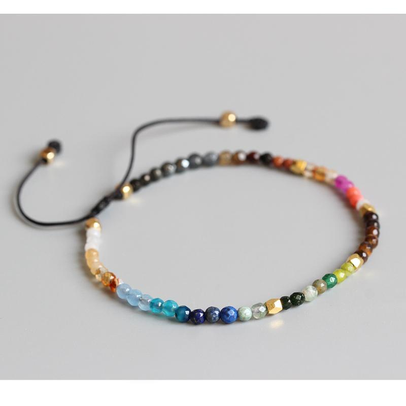 12 Constellation Lucky Stones Bracelet