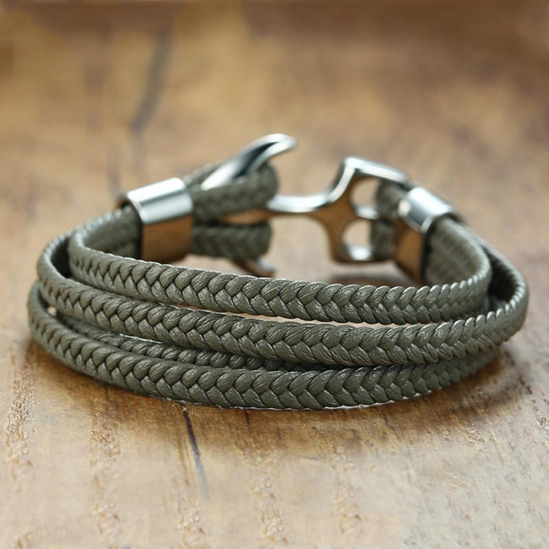 Genuine Handmade Leather Bracelet [2 Variations]