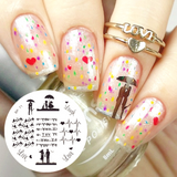 All Things Lovely Nail Art Stamping Plates