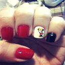 DIY Super Cute Mouse Nail Art Water Transfer Stickers