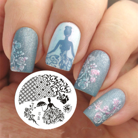All Things Lovely Nail Art Stamping Plates Clat De Paris