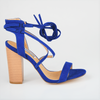 Madison Carlee Cobalt Blue Block Heels