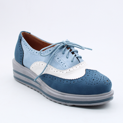 Madison Ezra  Brogue - Blue