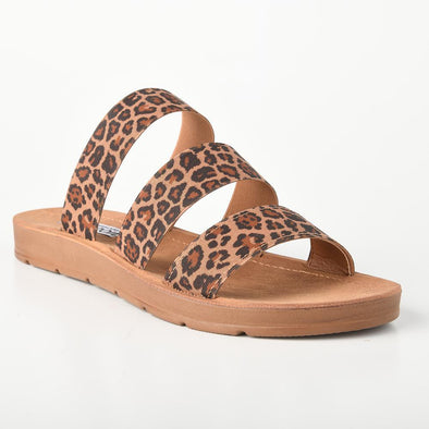 Holly Leopard Comfort Sandals