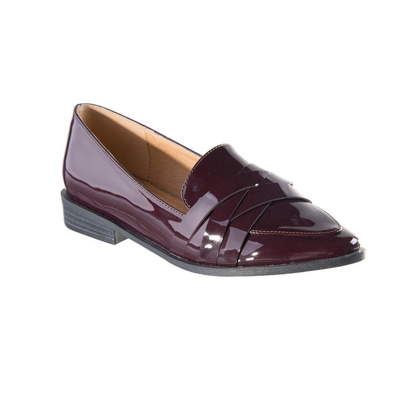 Madison Kristen Burgundy Loafers