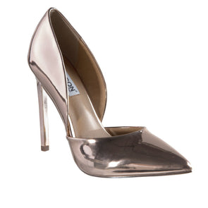 Leah Rose Gold Court Heels-Madison Heart of New York