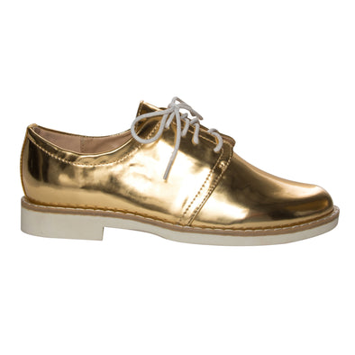 Maddox Gold Oxfords-Madison Heart of New York
