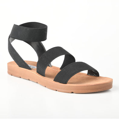 Madison Annie Black Comfort Sandals