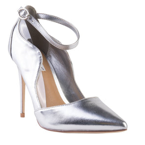 Madison Camilla Silver Court Heels-Madison Heart of New York