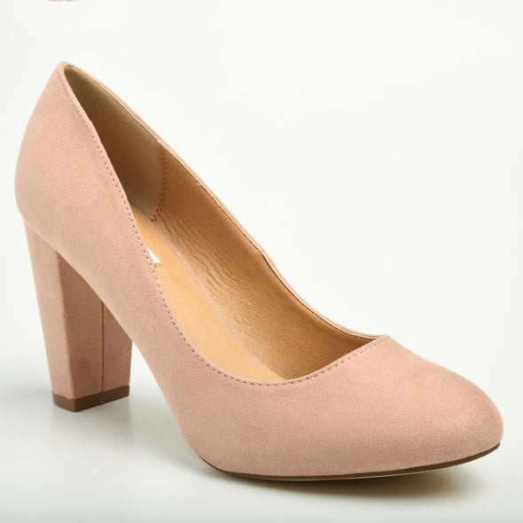 Madison Idah Blush Court Heels