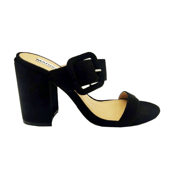 Madison Jaimi Black Block Heels
