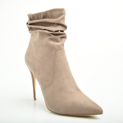 Madison Lyla Taupe High Heel Boots