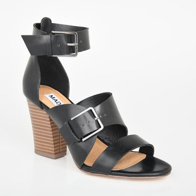 Madison Melani Black Sandal