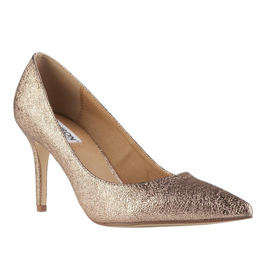 Madison Penny Gold Court Heels-Madison Heart of New York