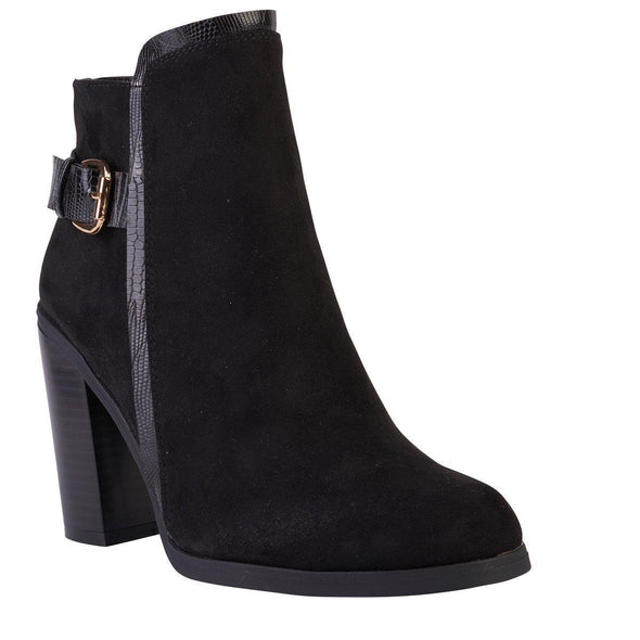 Madison Presley Black Ankle Boot