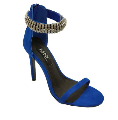 MHNY by Madison Maria Cobalt Blue High Heels