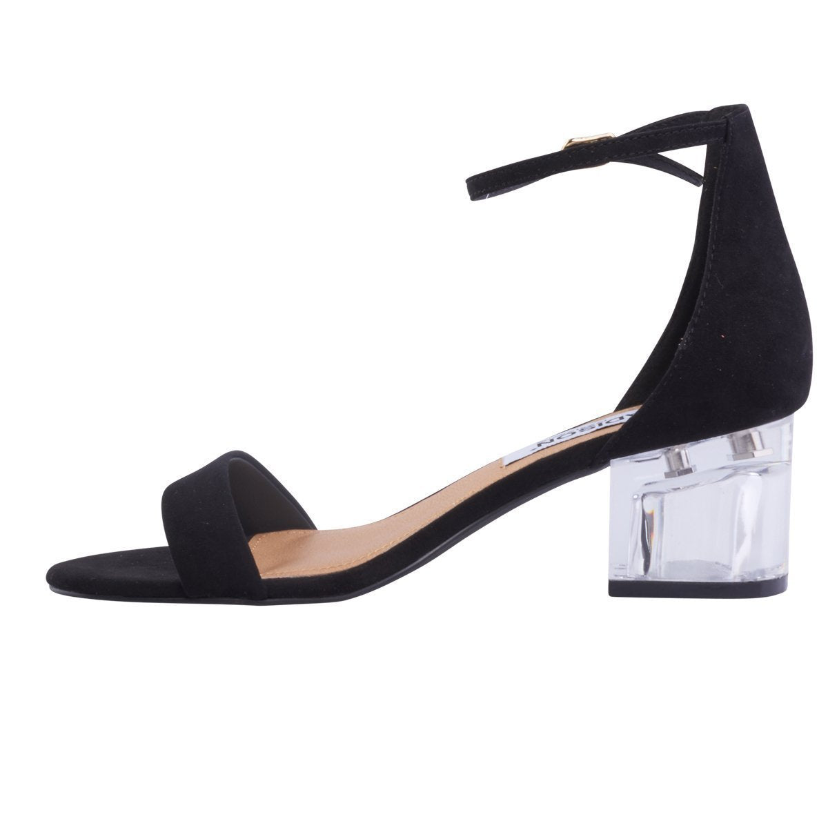 3b48e4768cf Mila Black Suede Block Heels – Madison Heart of New York