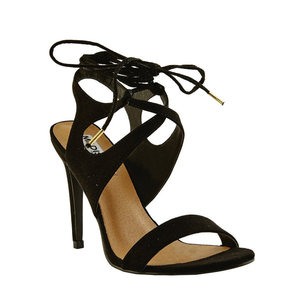 Madison Page Black Sandals
