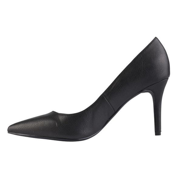 Penny Black Court Heels-Madison Heart of New York