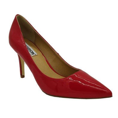 Penny Red Court Heels-Madison Heart of New York