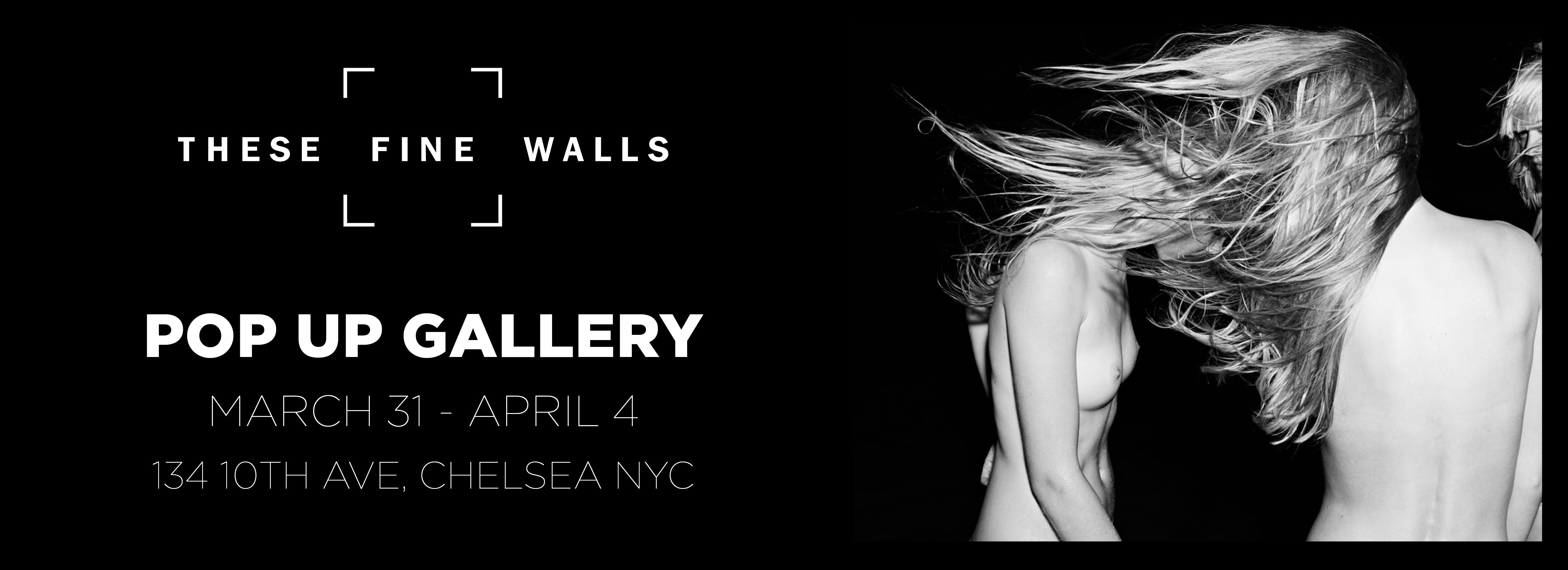 TheseFineWalls Pop-Up Contemporary Photography Exhibition