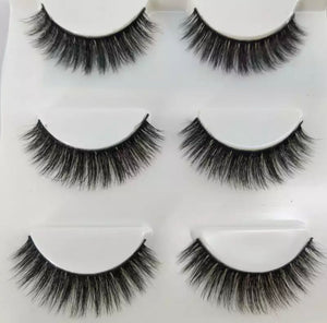 Flare Lashes Multipack- Tiana (Pack of 3)