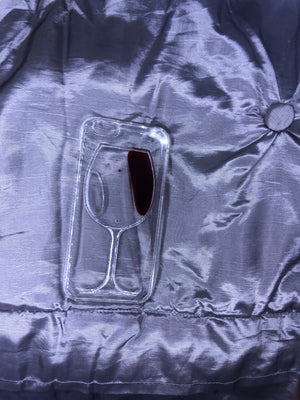 Moving Wine Glass Case- iPhone 6/6S