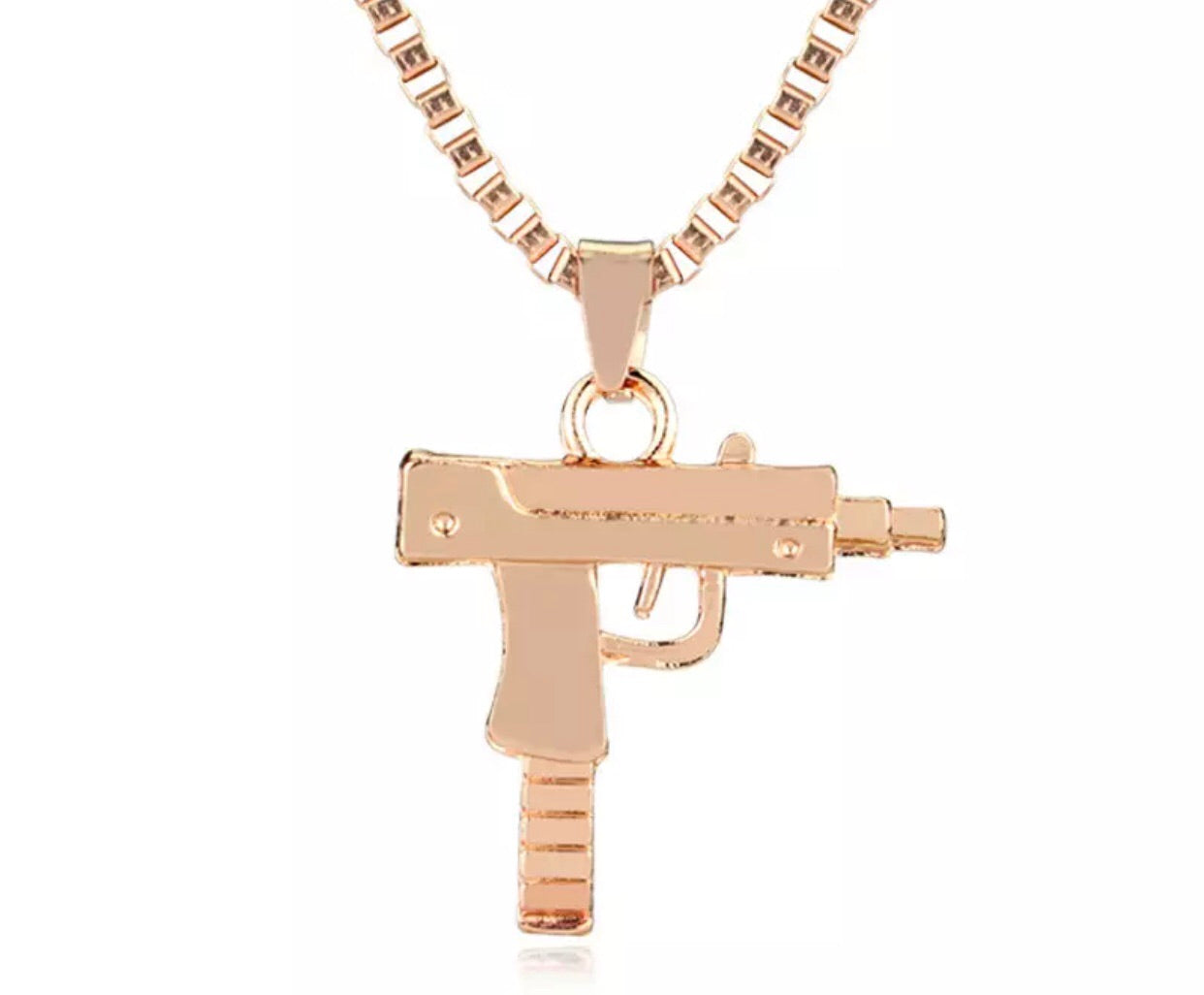 Lil Uzi Necklace- Rose Gold