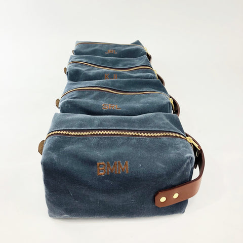 Personalized Dopp Kits for Groomsmen
