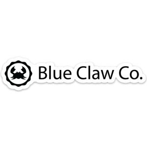 """Blue Claw Co"" Sticker"