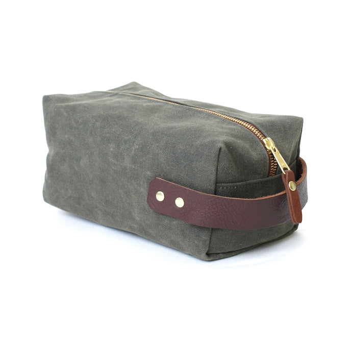 Duck Island Dopp Kit, Olive
