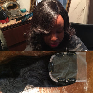 IndiStraight lace closures