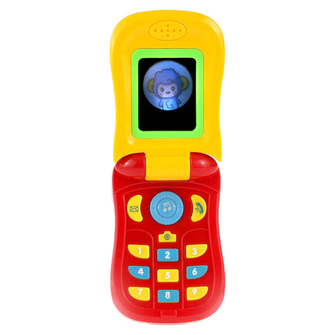 Flip Cell Phone Baby Toy