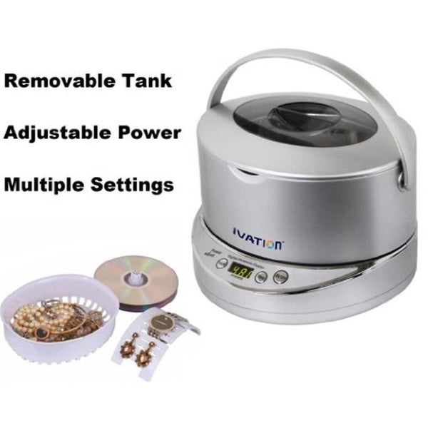 Ivation Digital Ultrasonic Cleaner