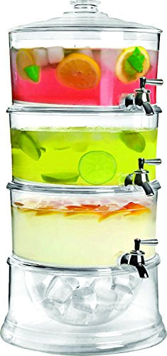 Ivation 3 Gallon Beverage Dispenser Set