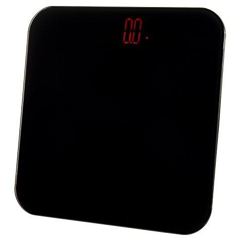Ivation Digital Body Weight Bathroom Scale w/ Seamless Tempered Glass Top