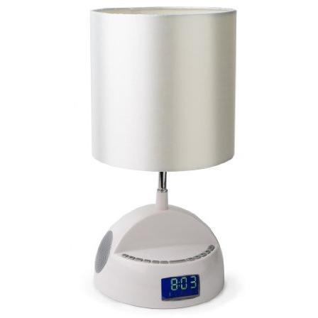 Ivation Bedroom Lamp w/Alarm C