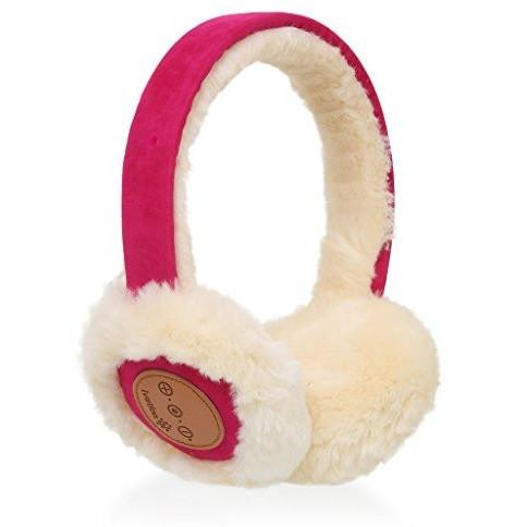 Ivation Bluetooth Wireless Headset Headband Earmuffs