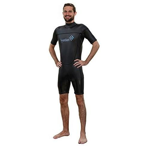 Ivation 3Mm Wind-Resistant Short Wetsuit For Men