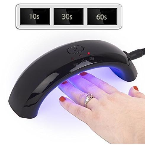 Ivation 9W Nail Led Uv Lamp Led Manicure Curing/Setting Lamp