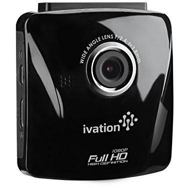 Ivation Ivation S18 Car Dash Cam 1080p HD Video & Audio Recorder