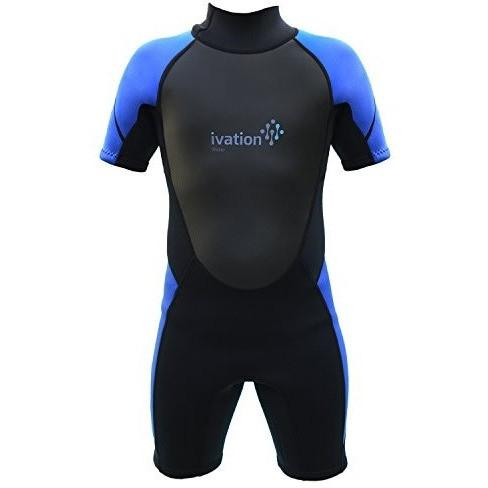 Ivation 3Mm Short Wetsuit For Kids