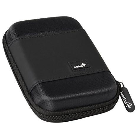 Ivation Compact Portable Hard Drive Case