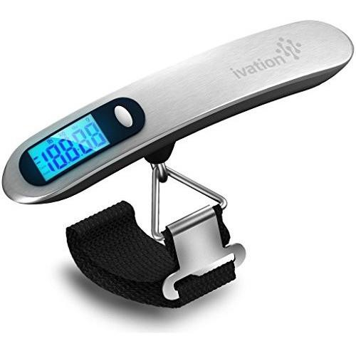 Ivation Digital Luggage Scale Handheld - 110-Pound Capacity by Ivation