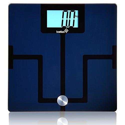 Ivation Digital Scale Smart Bluetooth Scale w/ Free App For Iphone, Ipad, Ipod