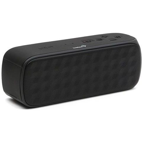 Ivation Boomering Splash-Proof Nfc Bluetooth Speaker, Micro Sd Mp3 Player